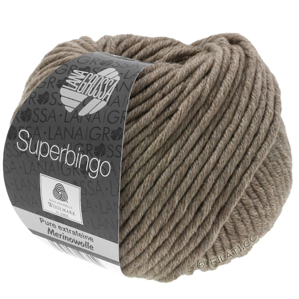 Lana Grossa SUPERBINGO | 023-серо-коричневый