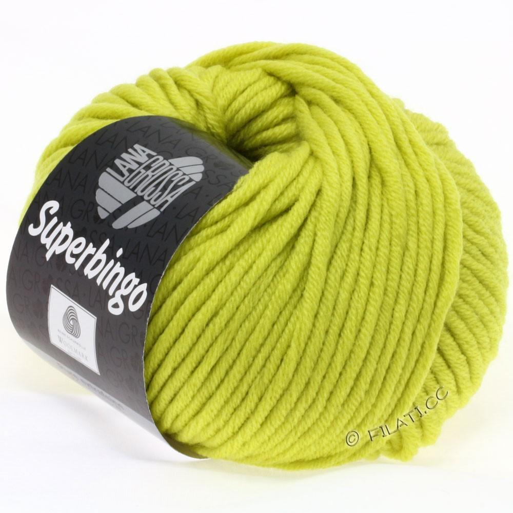 Lana Grossa SUPERBINGO | 030-жёлто-зелёный