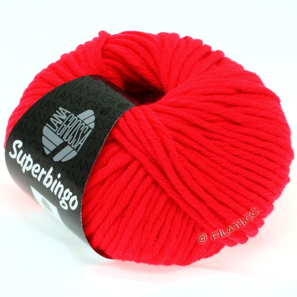 Lana Grossa SUPERBINGO | 307-красный неон