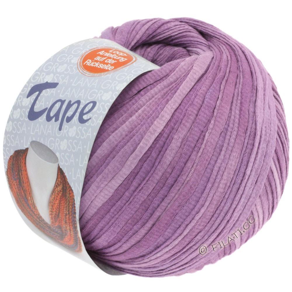 Lana Grossa TAPE (McWool) | 02-сирень/пурпурный