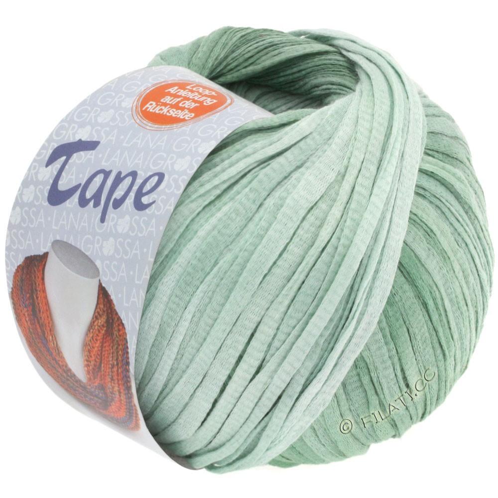 Lana Grossa TAPE (McWool) | 04-мята/серо-зеленый