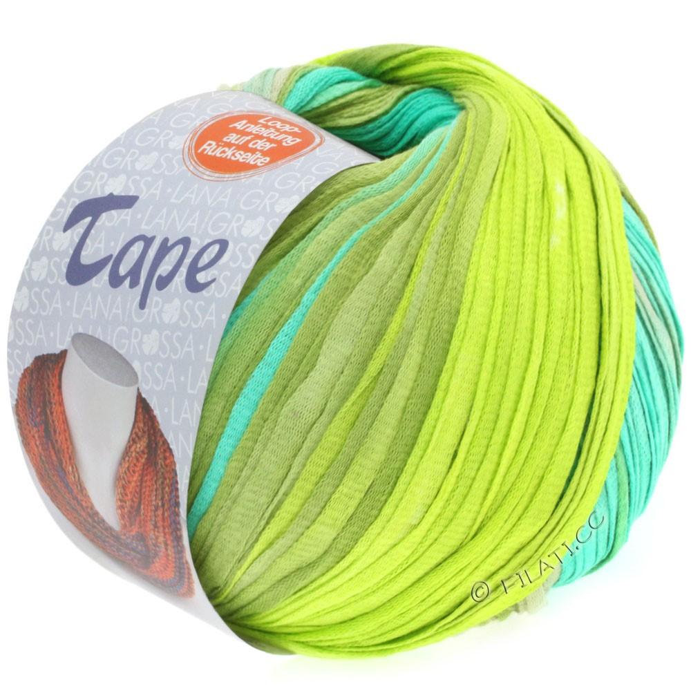 Lana Grossa TAPE (McWool) | 102-светло-зелёный/липовый