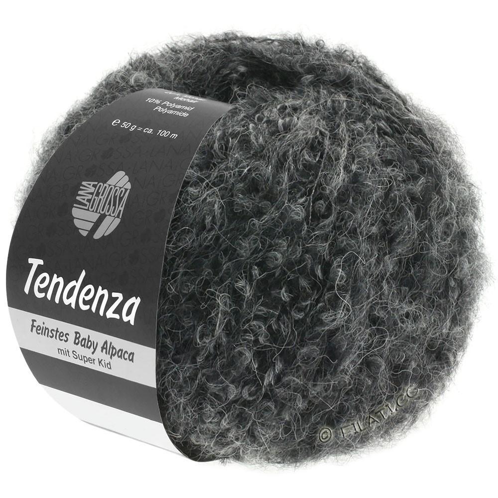 Lana Grossa TENDENZA | 010-чёрный/серый