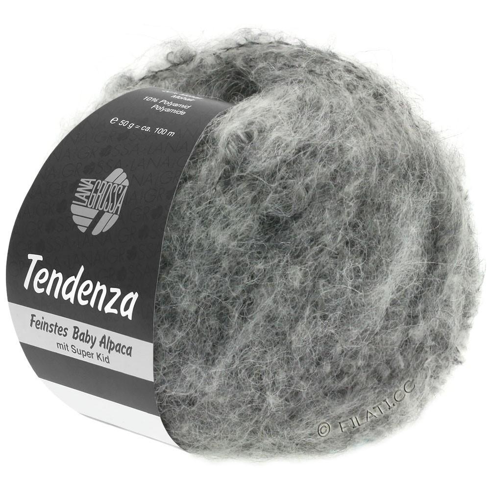 Lana Grossa TENDENZA | 011-серый/натуральный