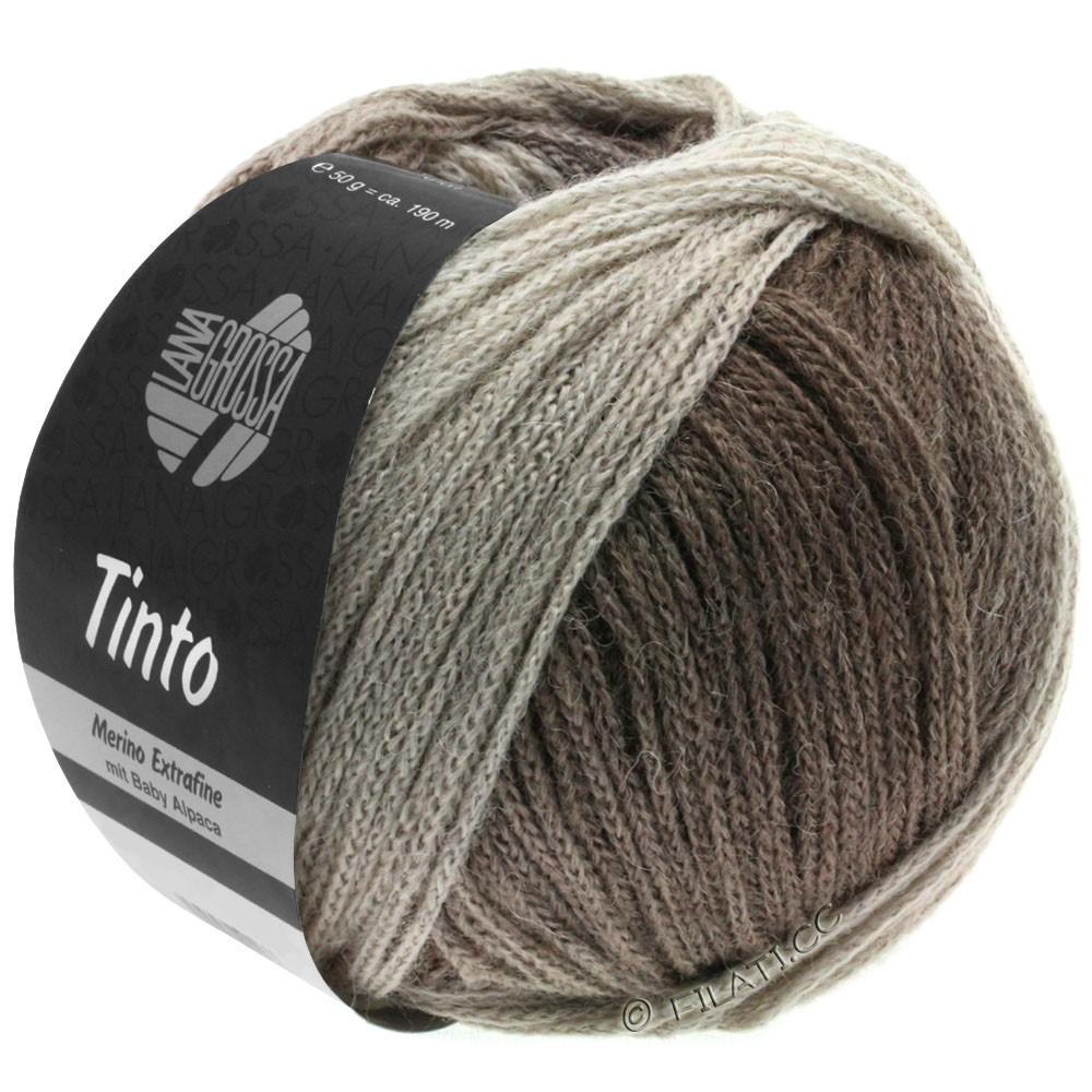 Lana Grossa TINTO | 12-серо- бежевый/серый камень/серо-коричневый/грязь