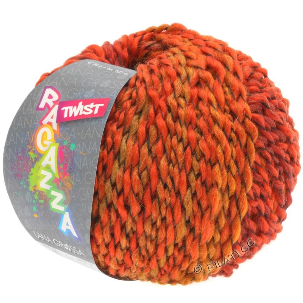 Lana Grossa TWIST (Ragazza) | 06-красный/бургунд/оранжевый
