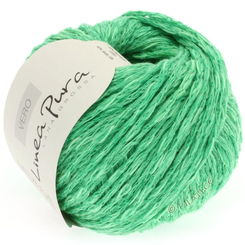 Lana Grossa VERO uni/print уни/принт (Linea Pura) | 006-зелёный