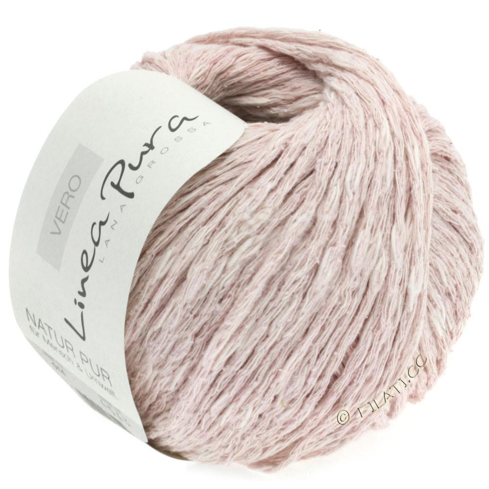 Lana Grossa VERO uni/print уни/принт (Linea Pura) | 014-бледно-розовый