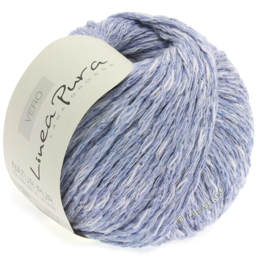 Lana Grossa VERO uni/print уни/принт (Linea Pura) | 015-серо-синий меланжевый