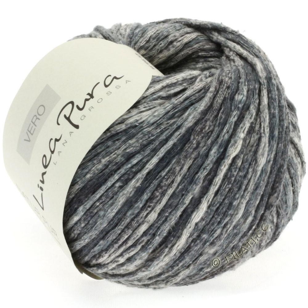 Lana Grossa VERO uni/print уни/принт (Linea Pura) | 108-тёмно-серый/натуральный