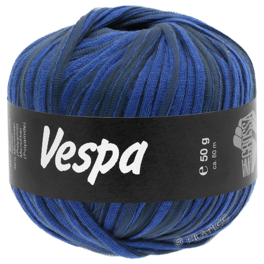 Lana Grossa VESPA | 011-синий/антрацитовый