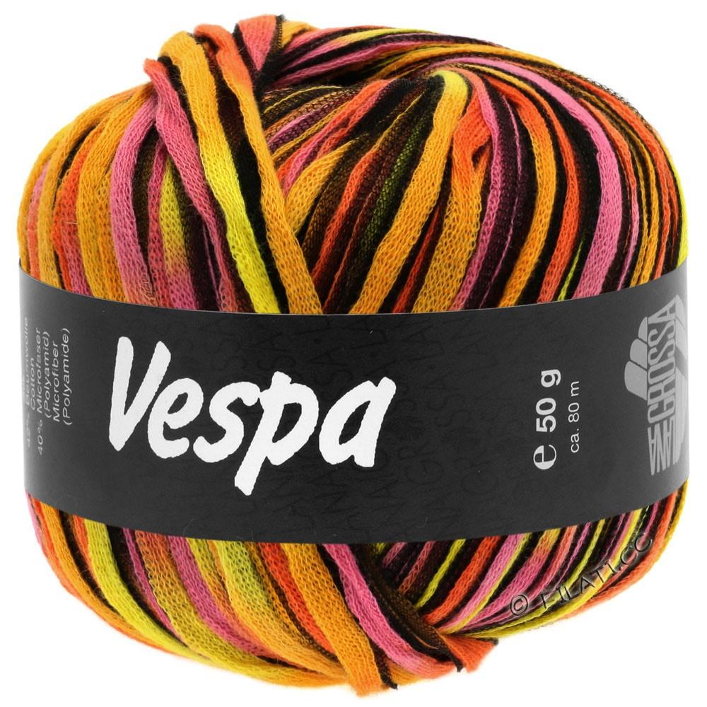 Lana Grossa VESPA | 101-жёлтый/оранжевый/розовый/чёрный