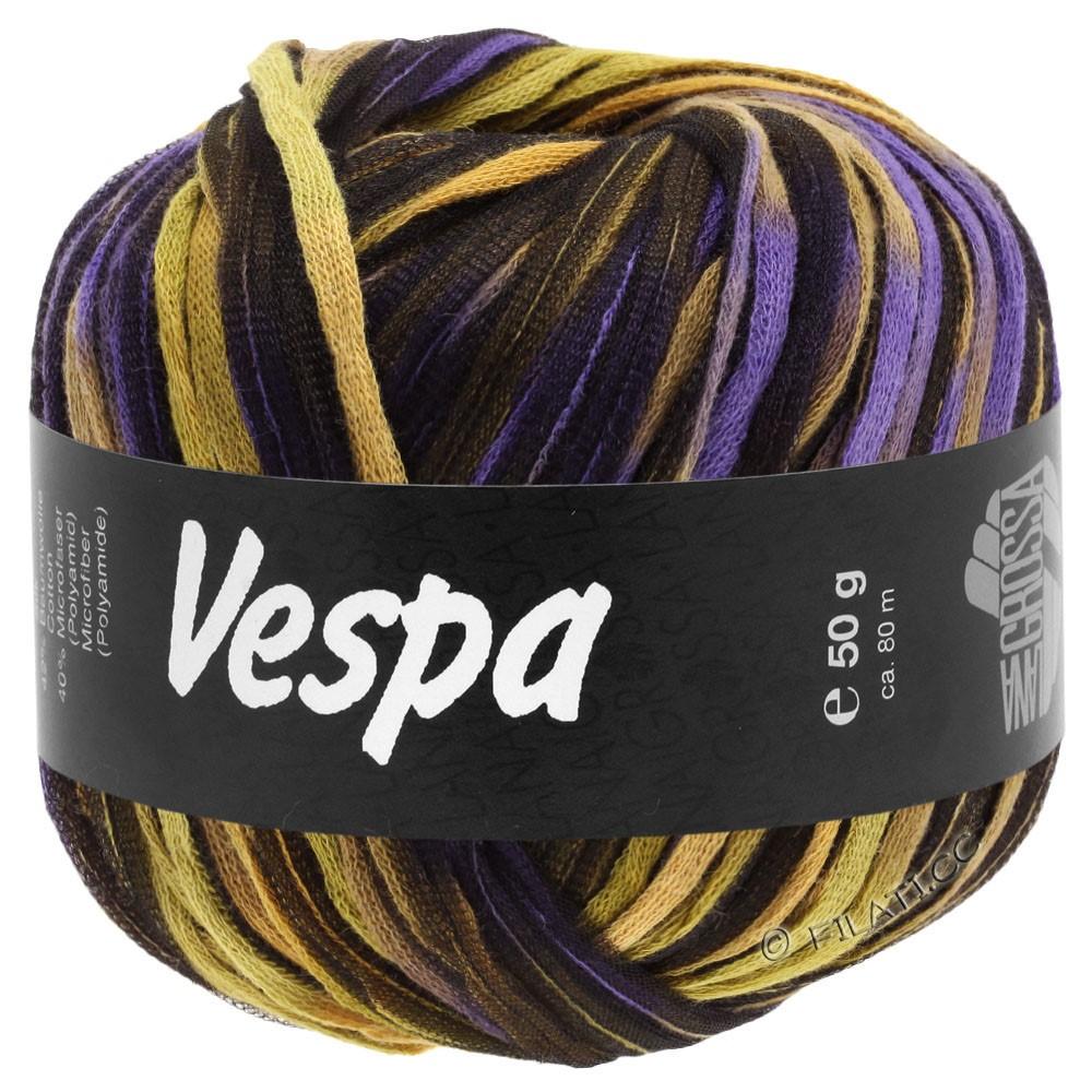 Lana Grossa VESPA | 106-бежевый/легко коричневый/пурпурный/чёрный