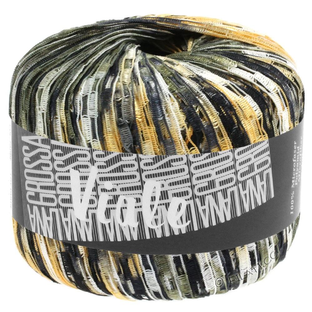 Lana Grossa VIALE | 309-чёрный/белый/хаки/легко коричневый