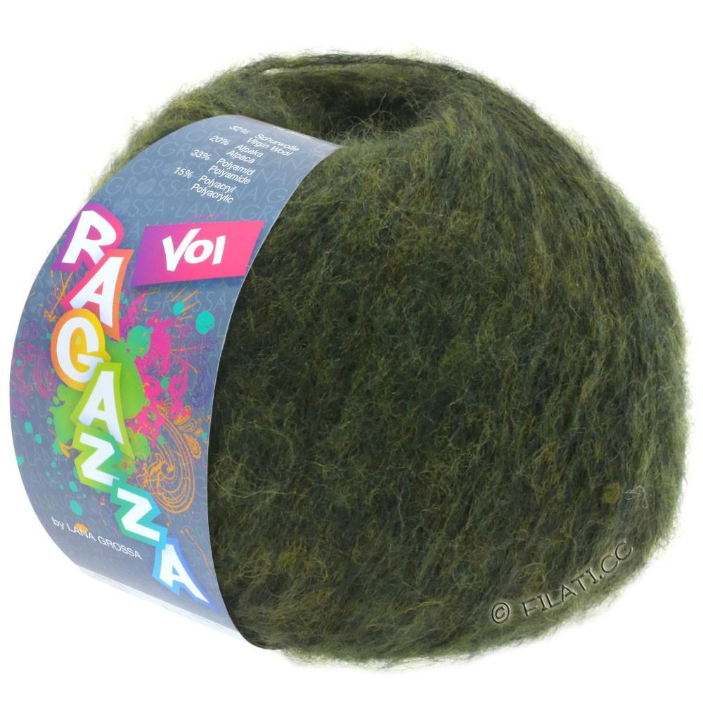 Lana Grossa VOI (Ragazza) | 02-темно-зеленый меланжевый