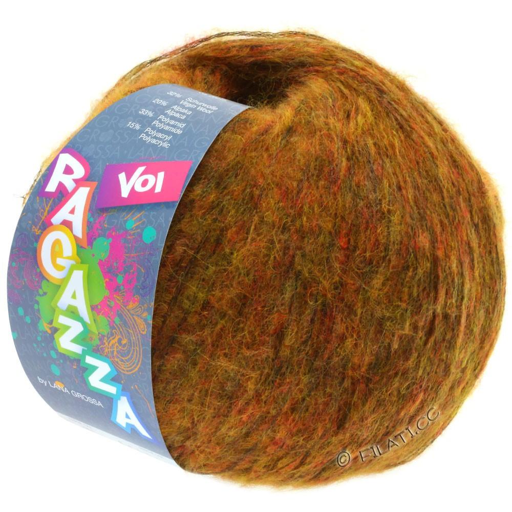 Lana Grossa VOI (Ragazza) | 03-золотисто-коричневый меланжевый