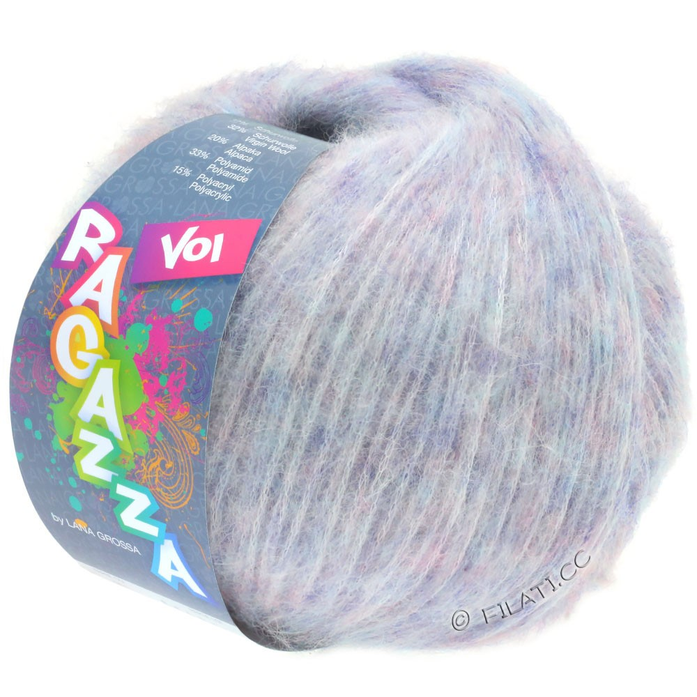 Lana Grossa VOI (Ragazza) | 09-мягко-фиолетовый