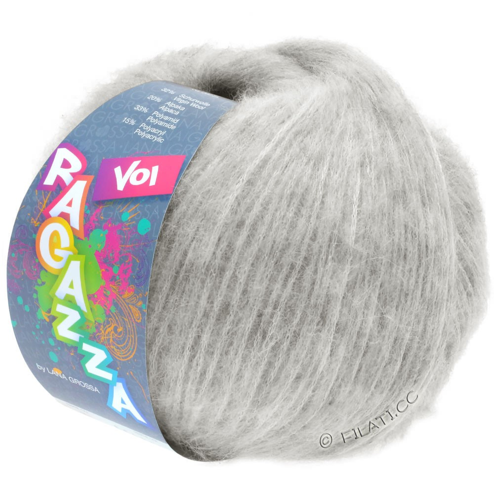 Lana Grossa VOI (Ragazza) | 12-серебристо-серый