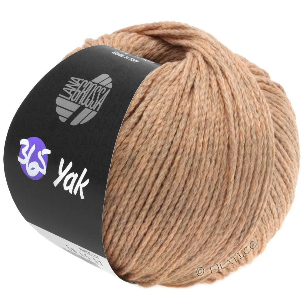 Lana Grossa 365 YAK | 03-персик/мягко-коричневый