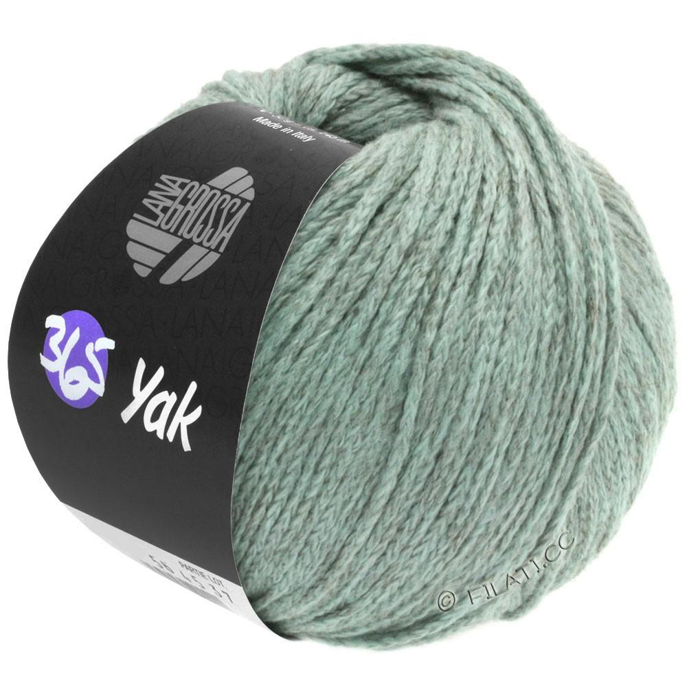 Lana Grossa 365 YAK | 09-мята/серый