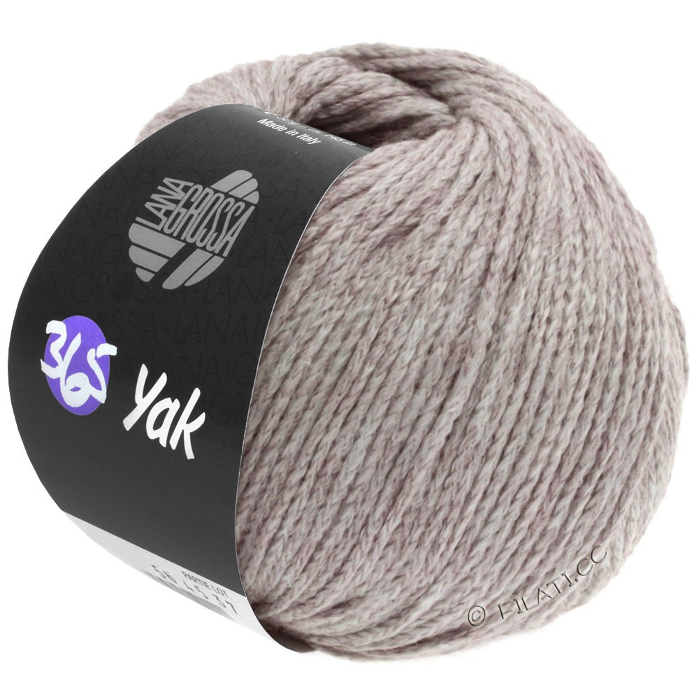 Lana Grossa 365 YAK | 18-сиренево-серый