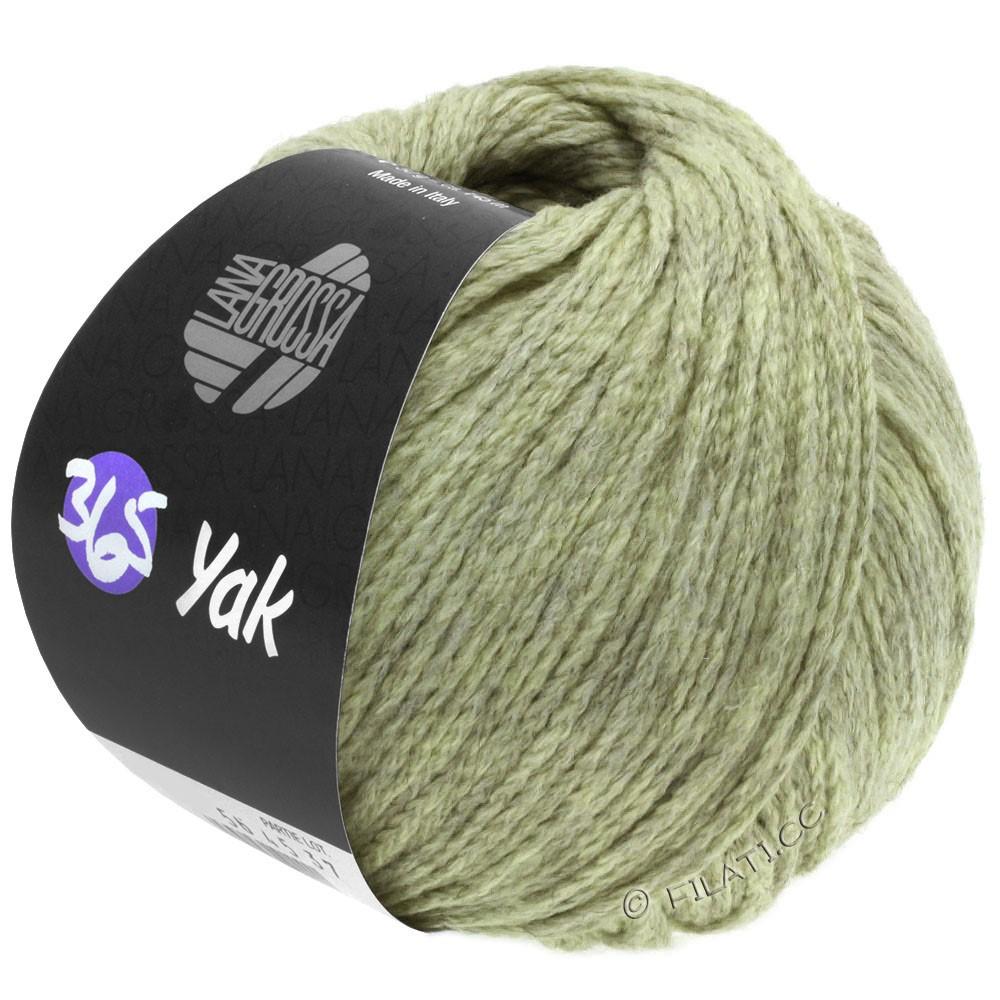Lana Grossa 365 YAK | 19-мягко-зеленый/серый