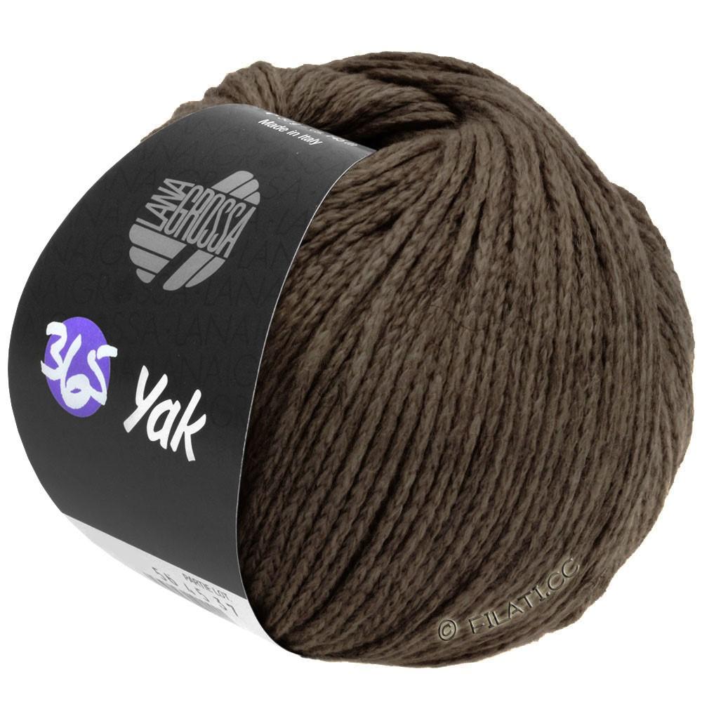 Lana Grossa 365 YAK | 28-тёмно-коричневый