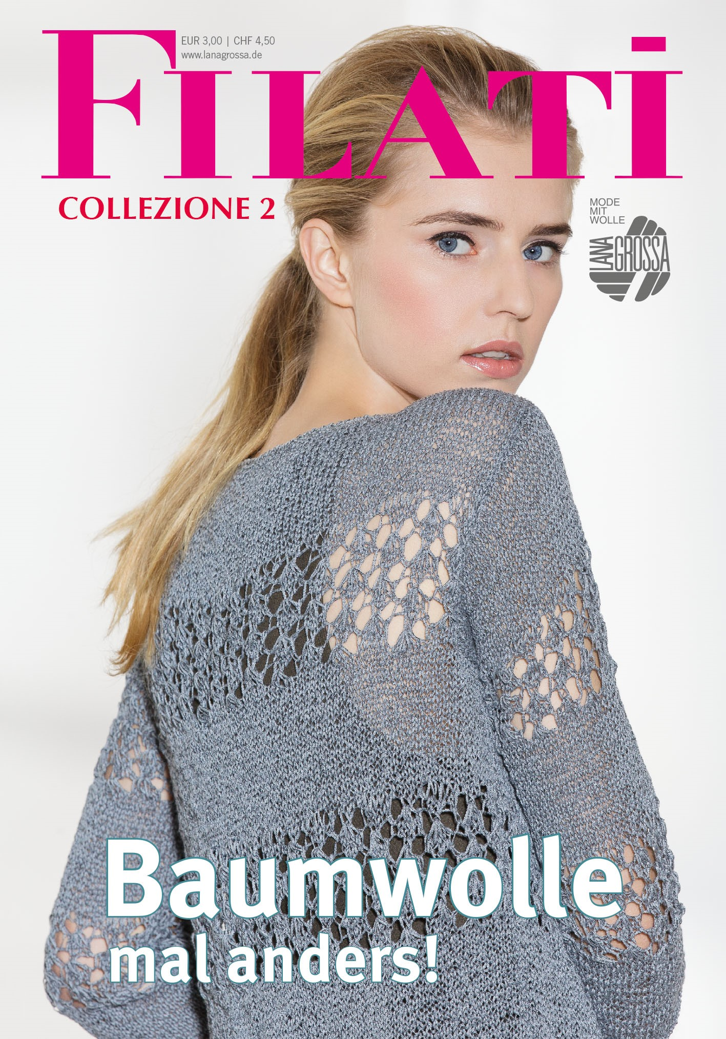 Lana Grossa FILATI COLLEZIONE No. 2 - Журнал на немецком и на русском языке инструкции