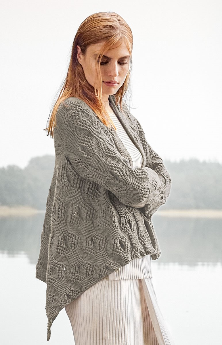 Lana Grossa ЖАКЕТ Cool Wool Cashmere