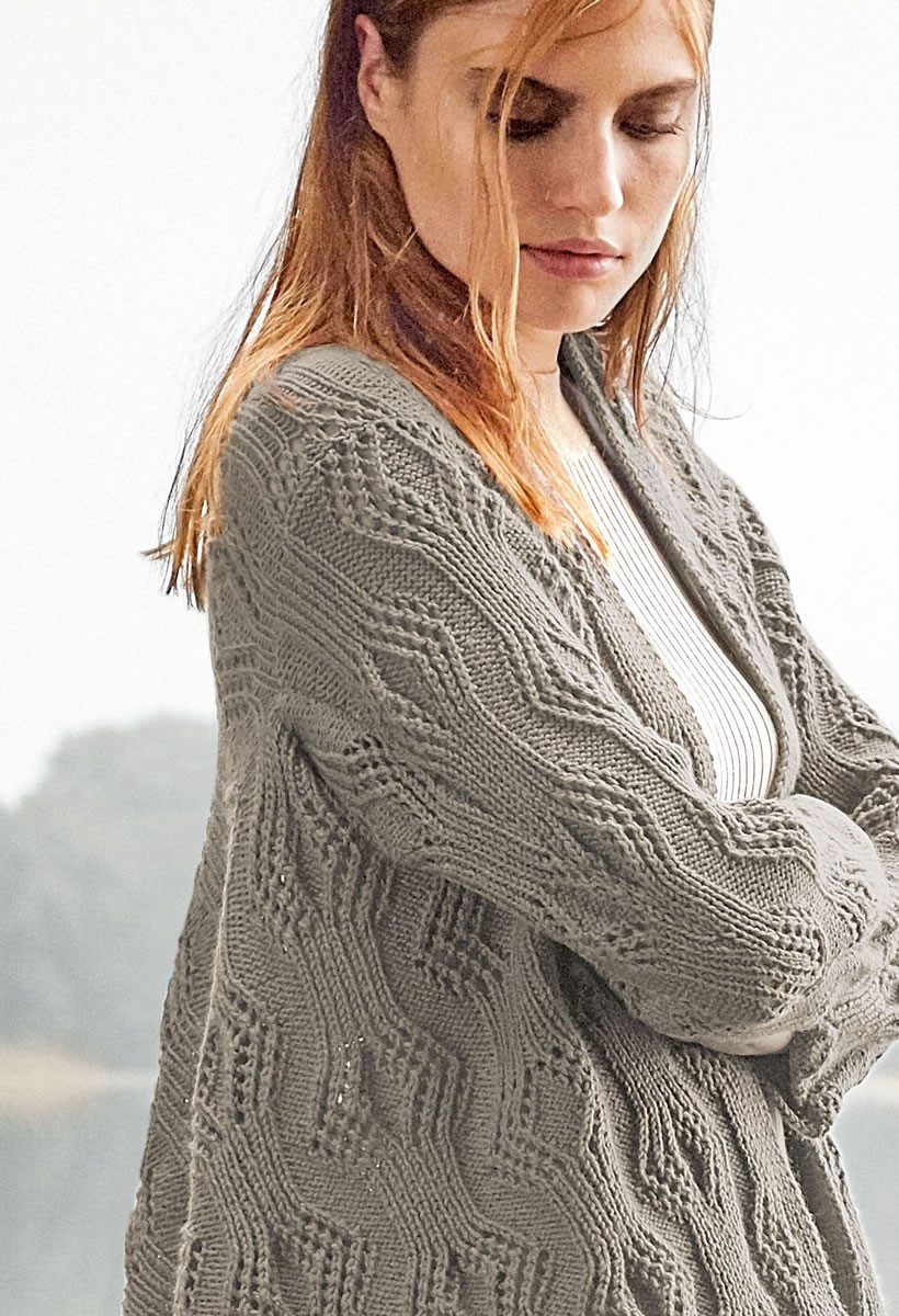 Lana Grossa ЖАКЕТ Cool Wool Cashmere