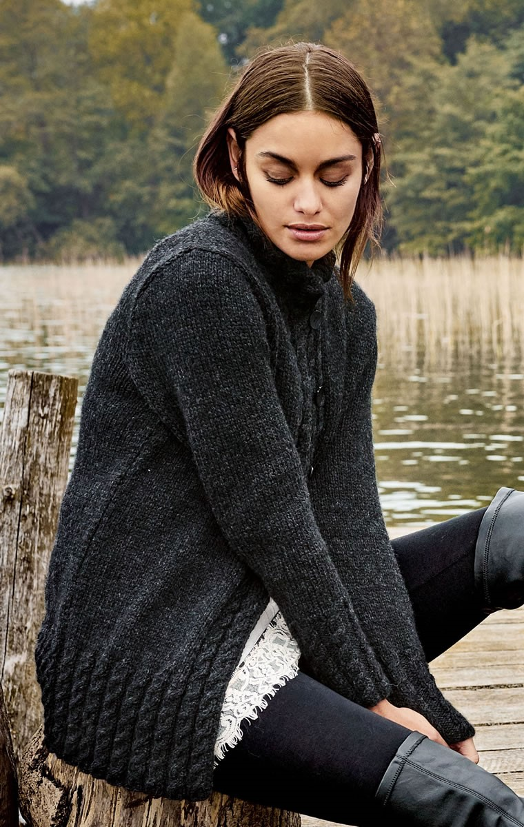 Lana Grossa ЖАКЕТ Alta Moda Alpaca