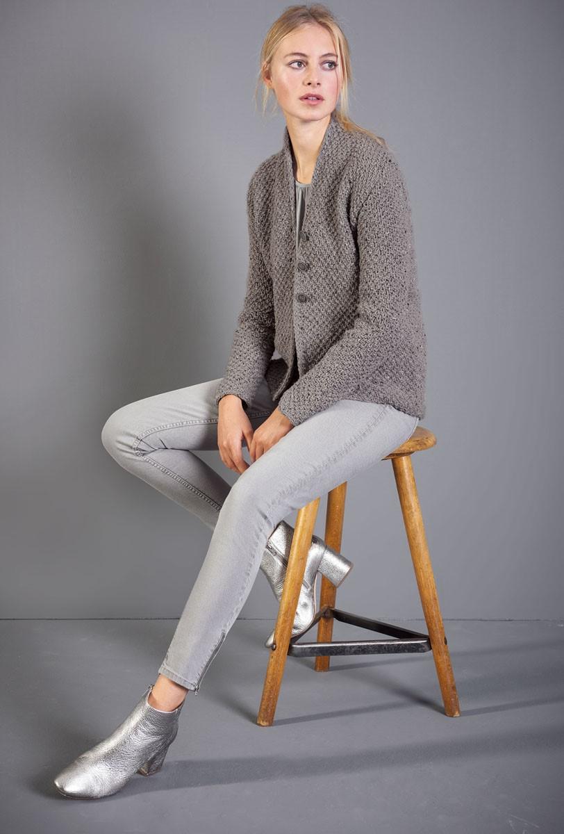 Lana Grossa ЖАКЕТ Royal Tweed