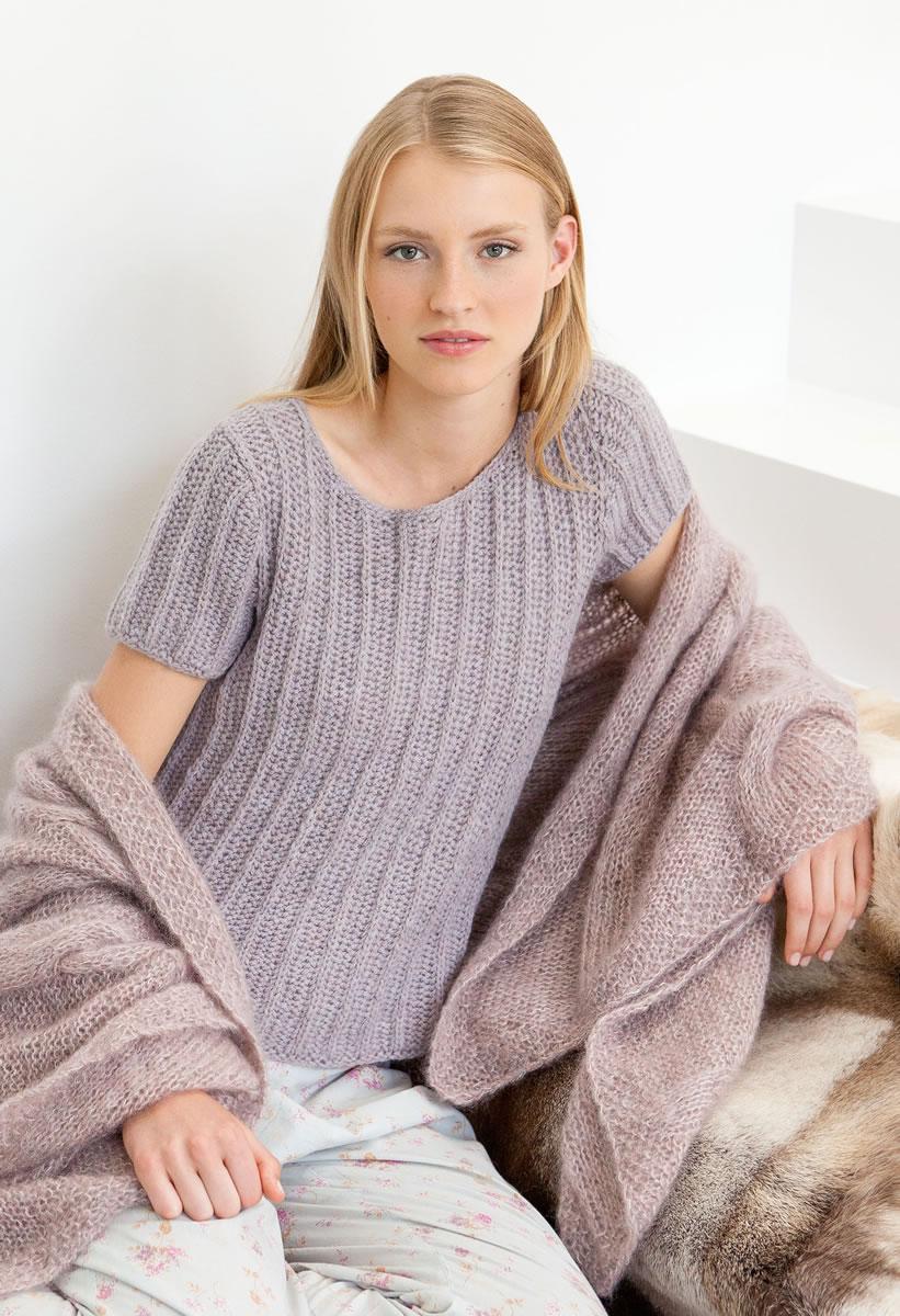Вязание спицами вязаные серые пуловеры в резинку фото