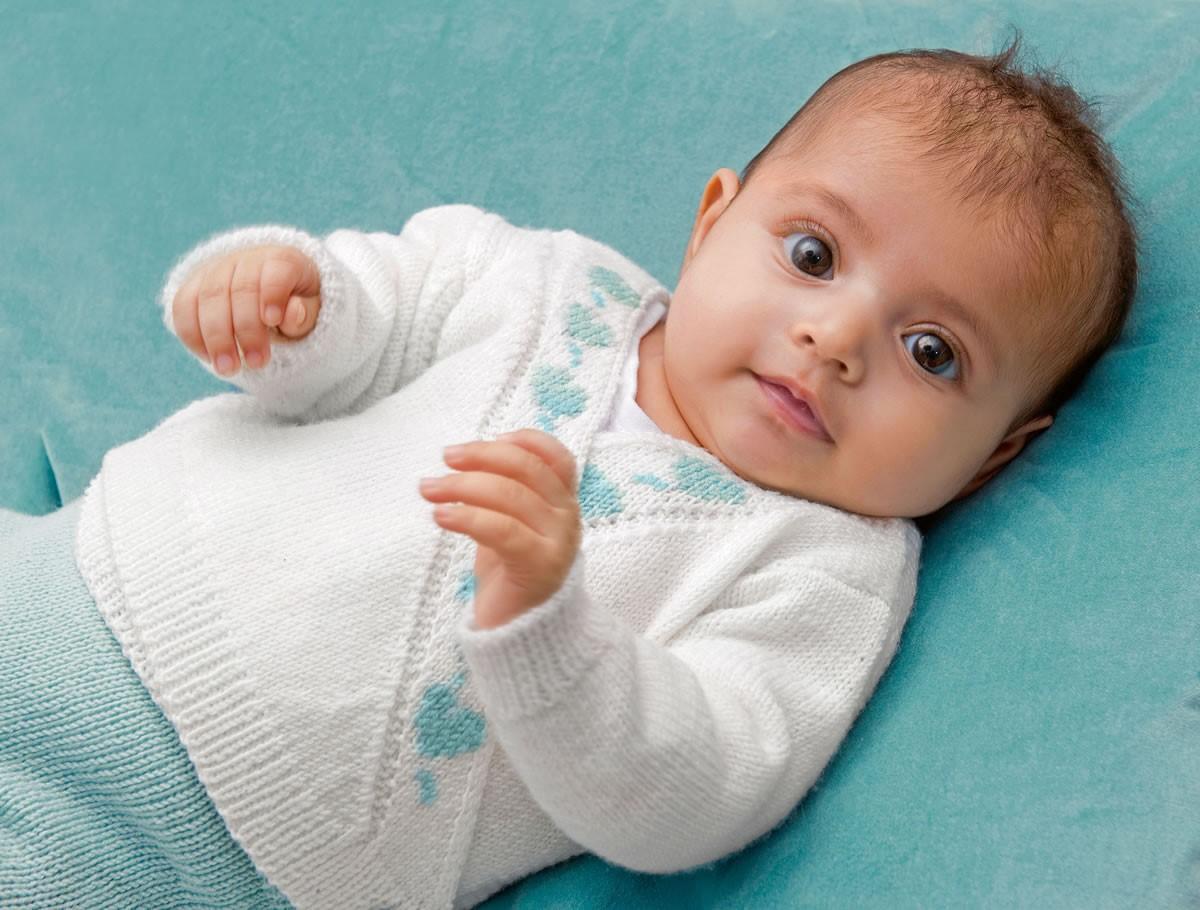 Lana Grossa ЖАКЕТ И ШТАНИШКИ Cool Wool Baby