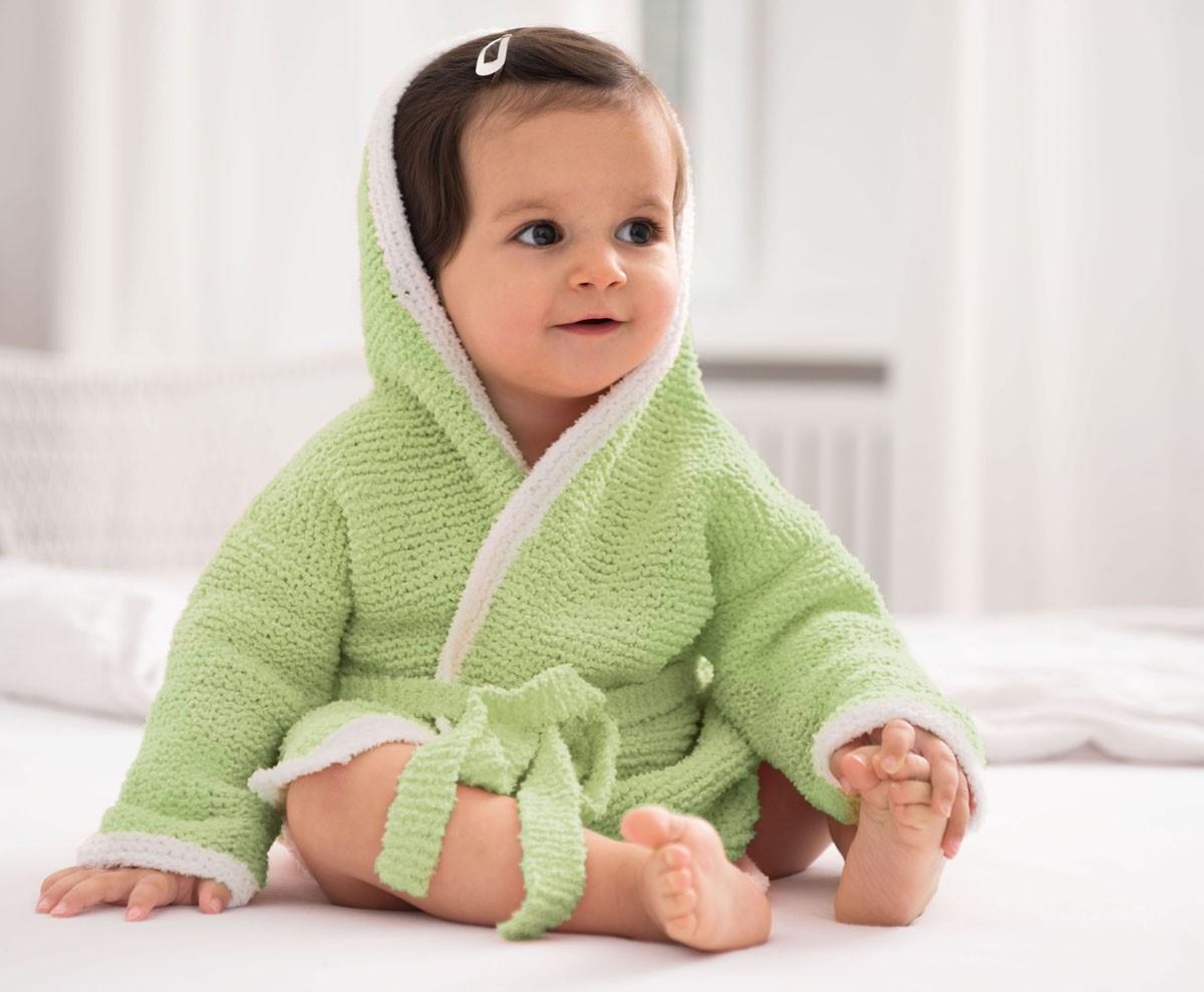 Lana Grossa БАННЫЙ ХАЛАТ Baby Soft