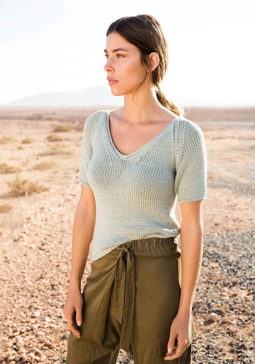 Lana Grossa Пуловер с рукавом реглан Cashseta