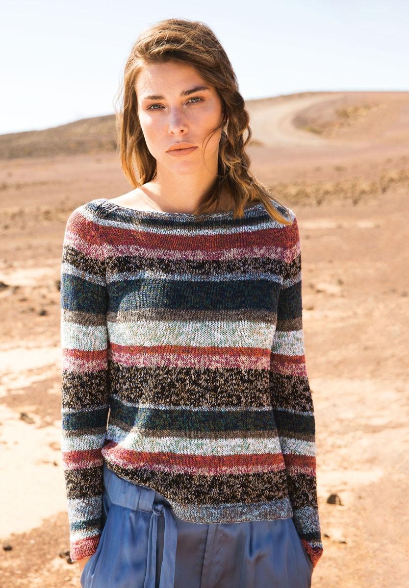 Lana Grossa Пуловер с рукавом реглан Collino