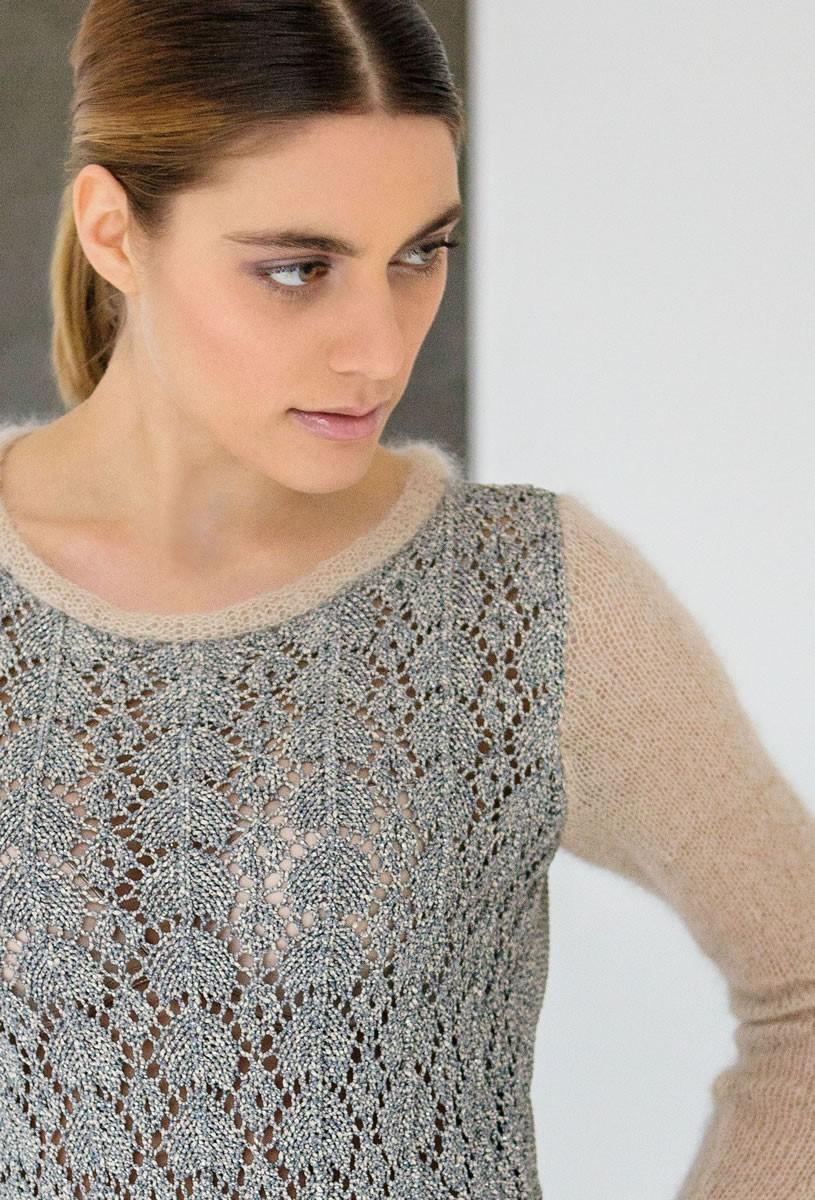 Lana Grossa ПУЛОВЕР Nizza/Silkhair