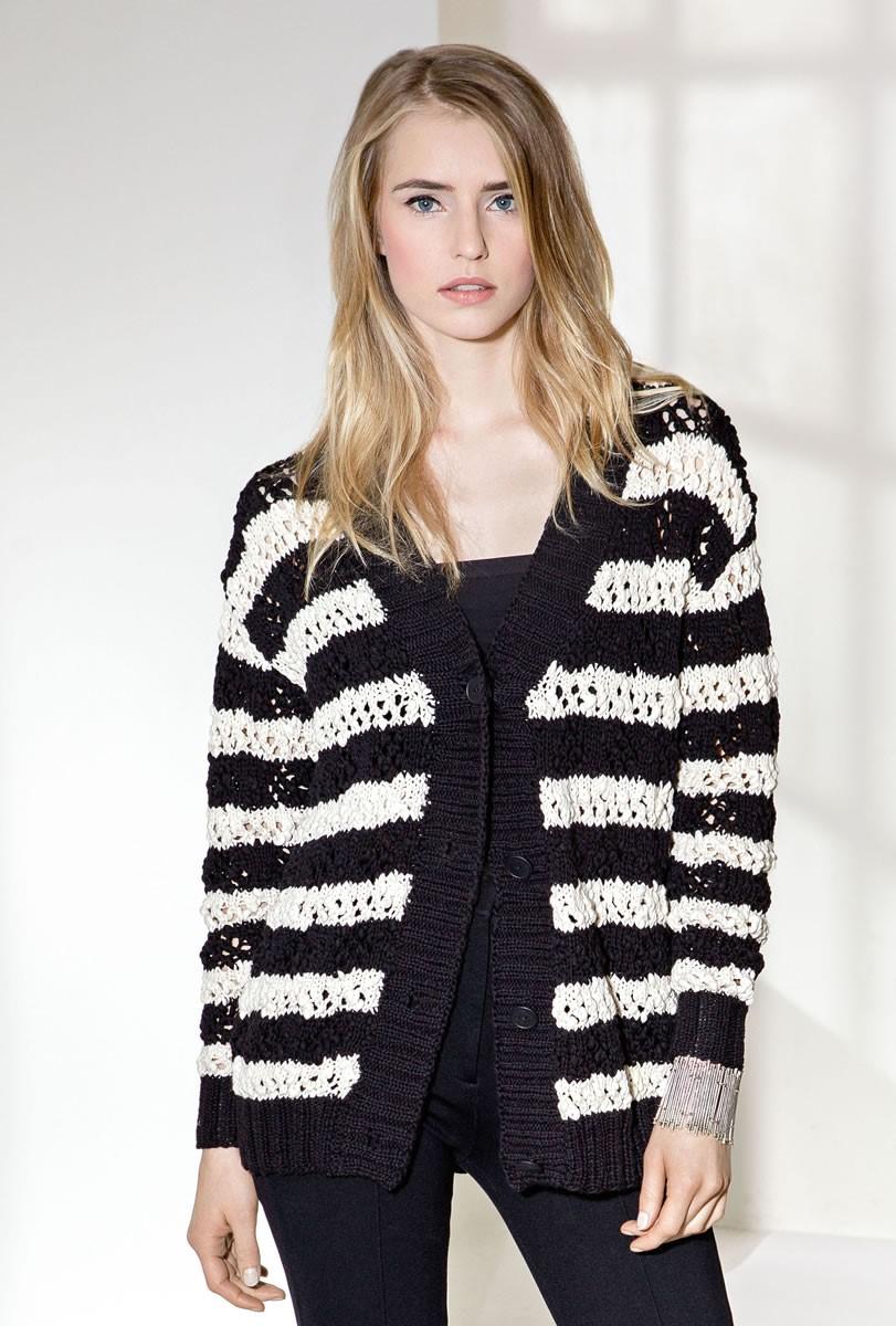 Lana Grossa ЖАКЕТ Cotton Style/Only Cotton