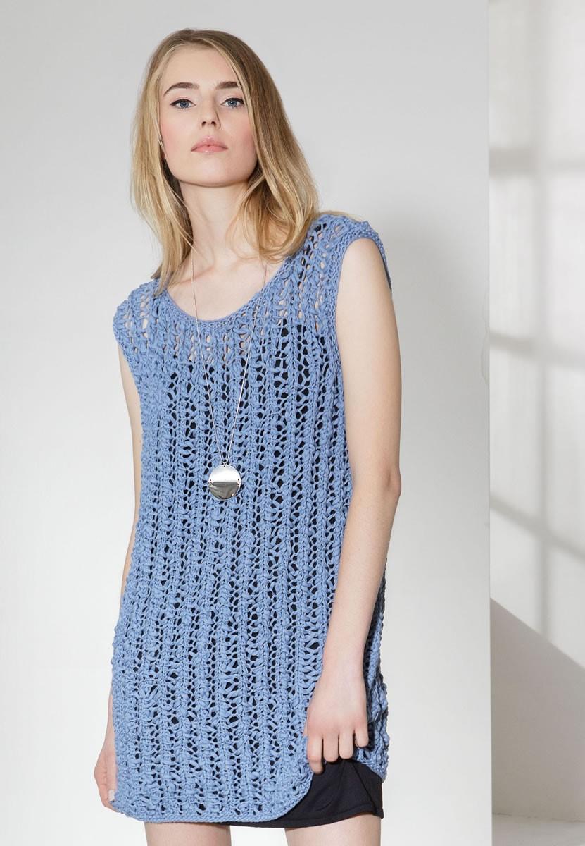 Lana Grossa ТУНИКА Cotton Style/Only Cotton