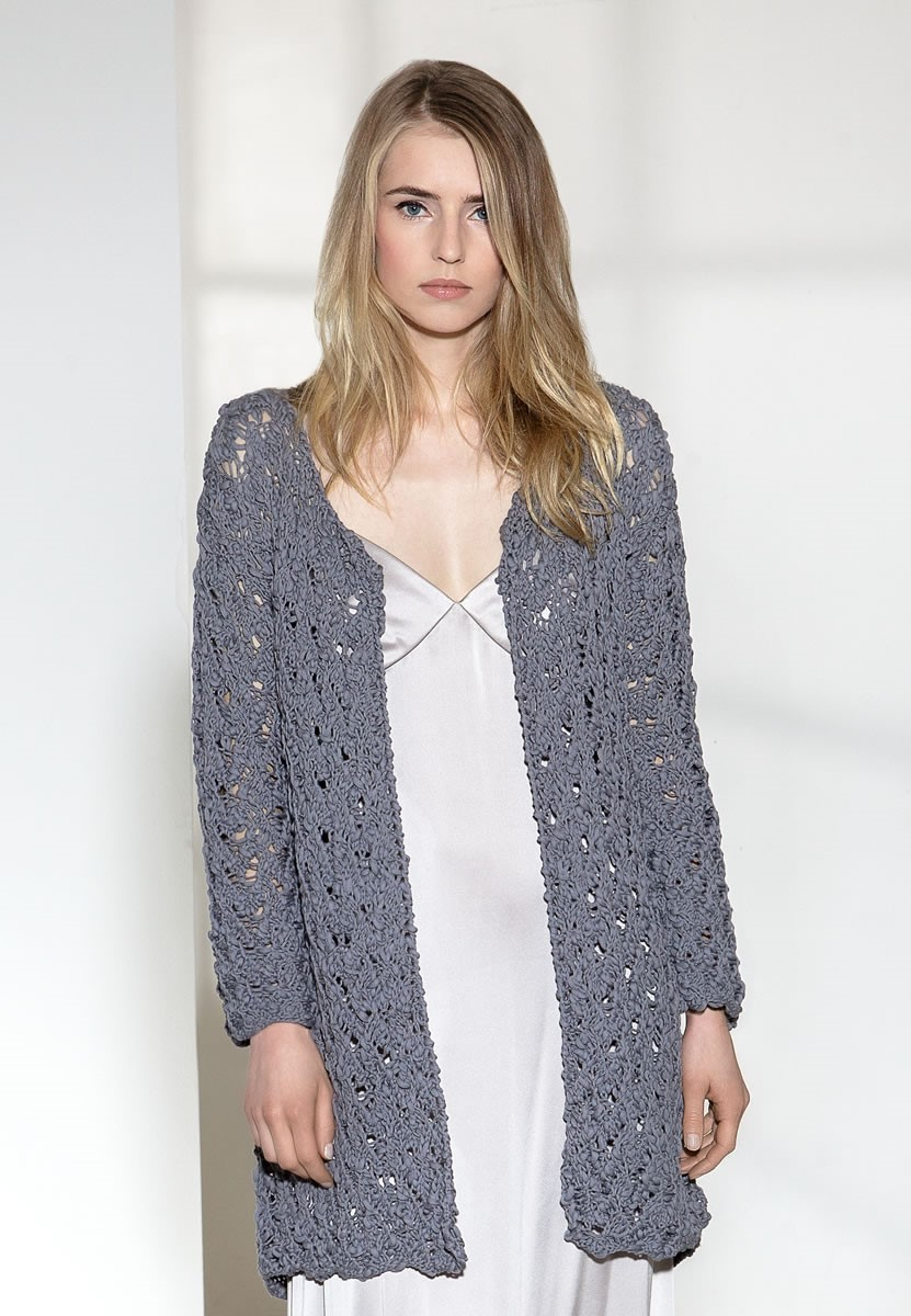 Lana Grossa ЖАКЕТ Cotton Style