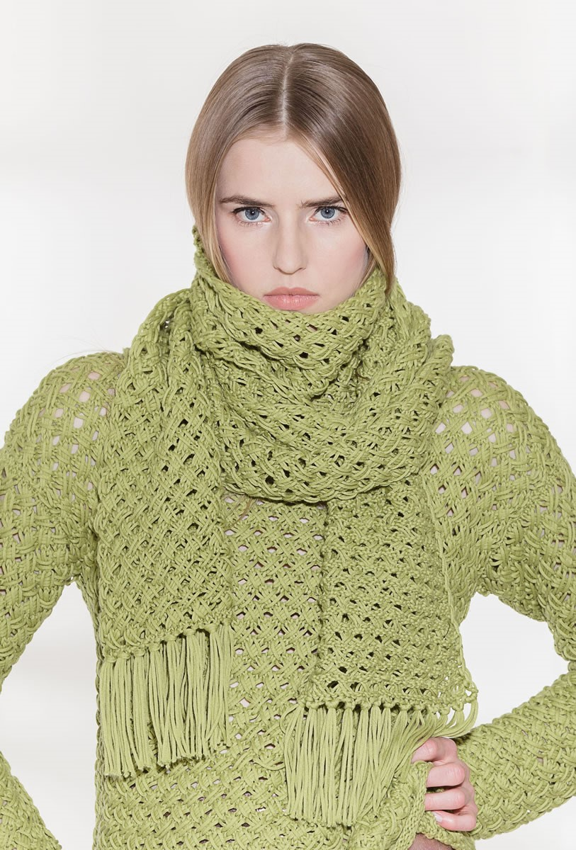 Lana Grossa ШАРФ Only Cotton