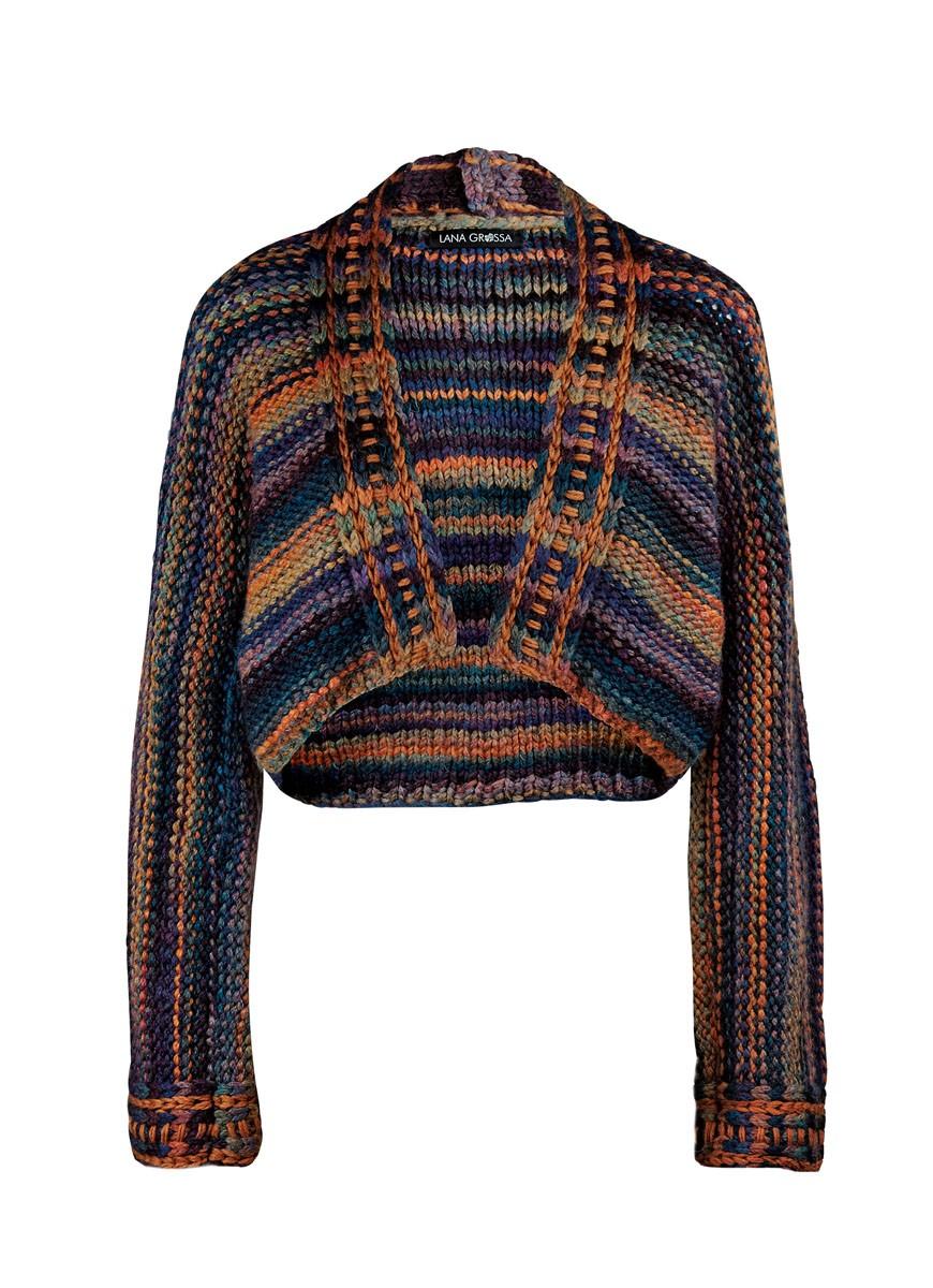 Lana Grossa ЖАКЕТ Alta Moda Superbaby Uni/Color