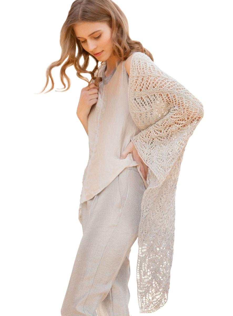 Lana Grossa ПЛАТОК Shades of Cotton Linen