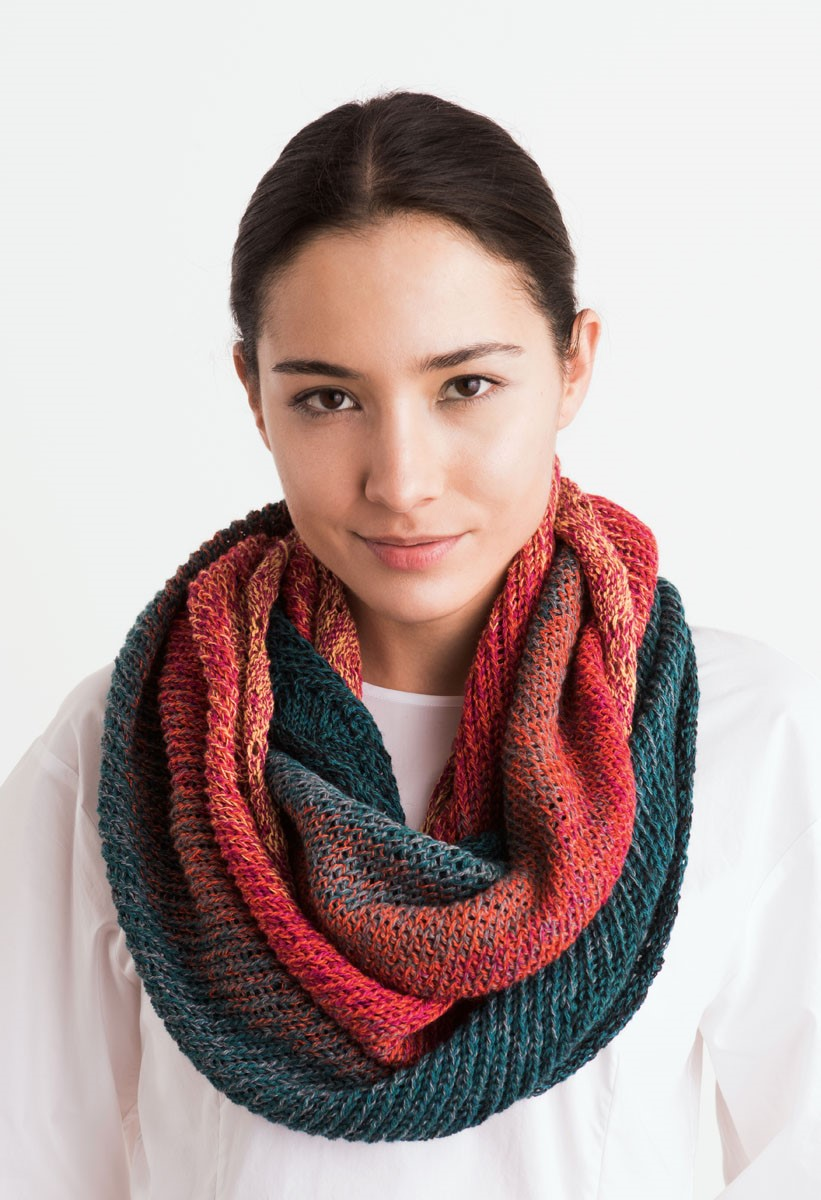 Lana Grossa ЛООП Shades of Merino Cotton