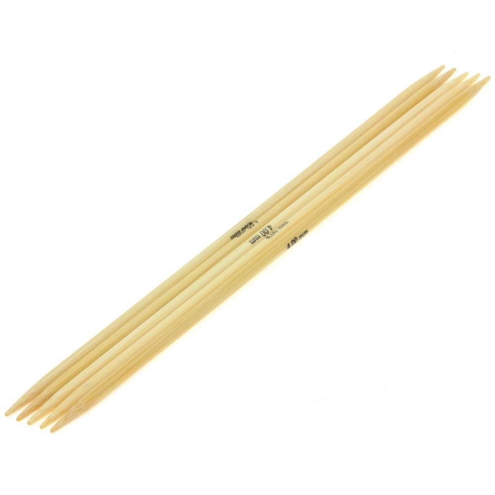 Lana Grossa набор чулочных спиц бамбук № 4/20см