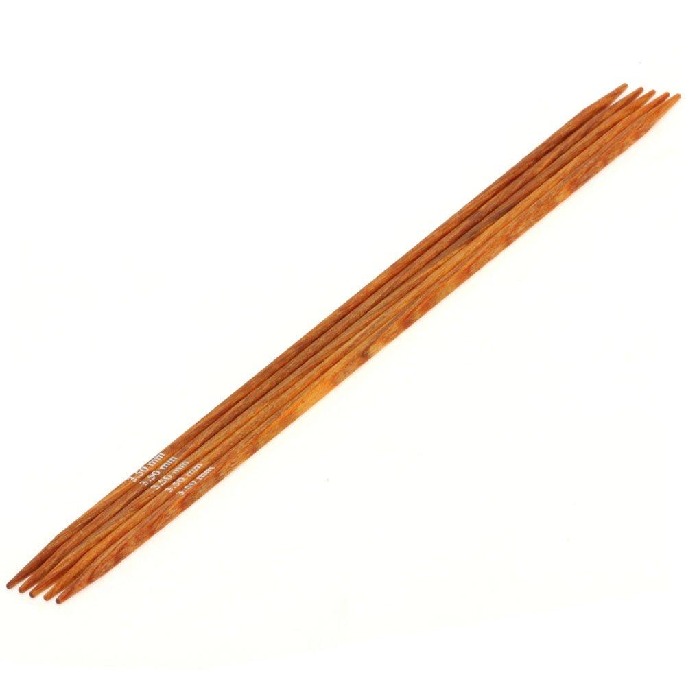 Lana Grossa Набор чулочных спиц Design-wood Quattro № 3,5/20см