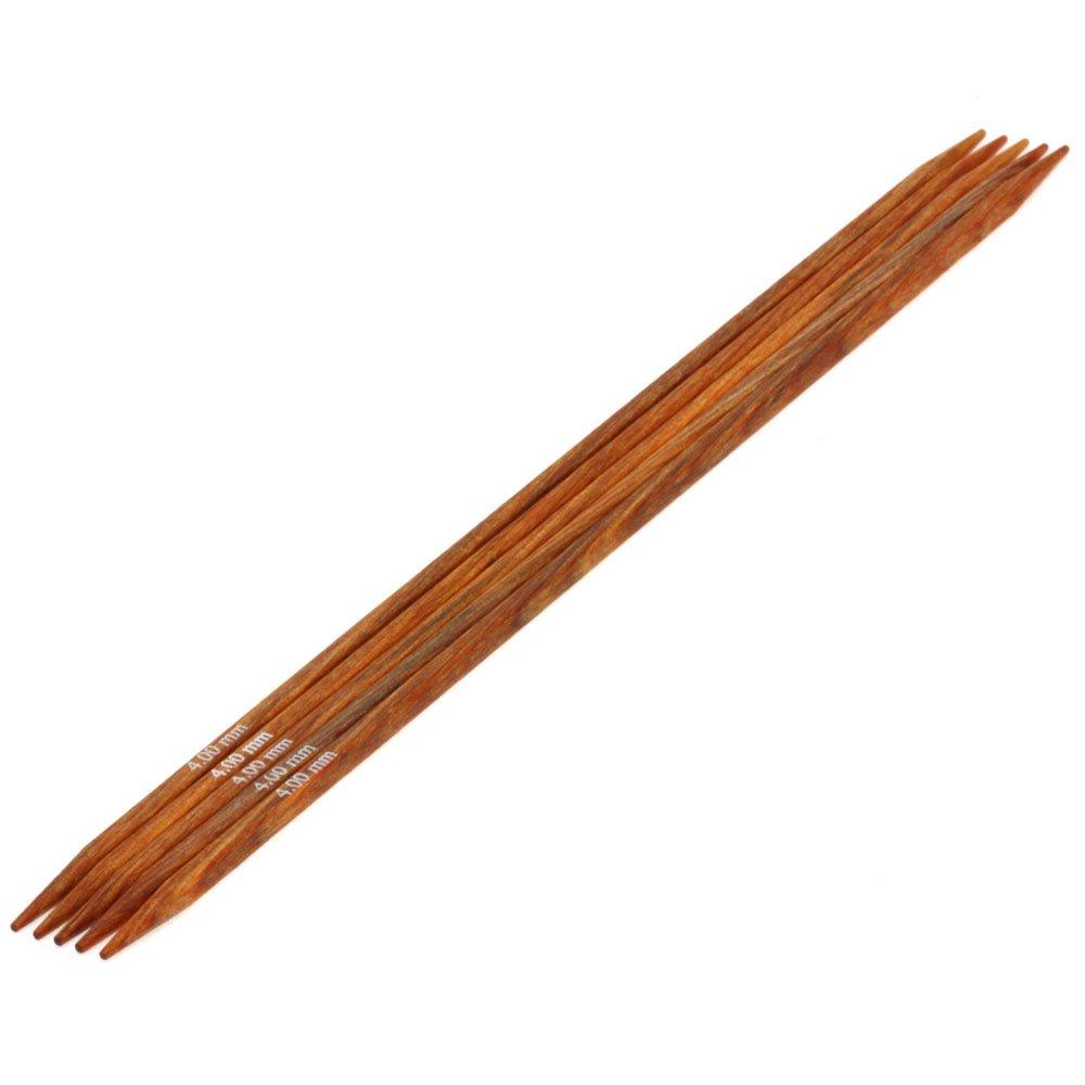 Lana Grossa Набор чулочных спиц Design-wood Quattro № 4/20см