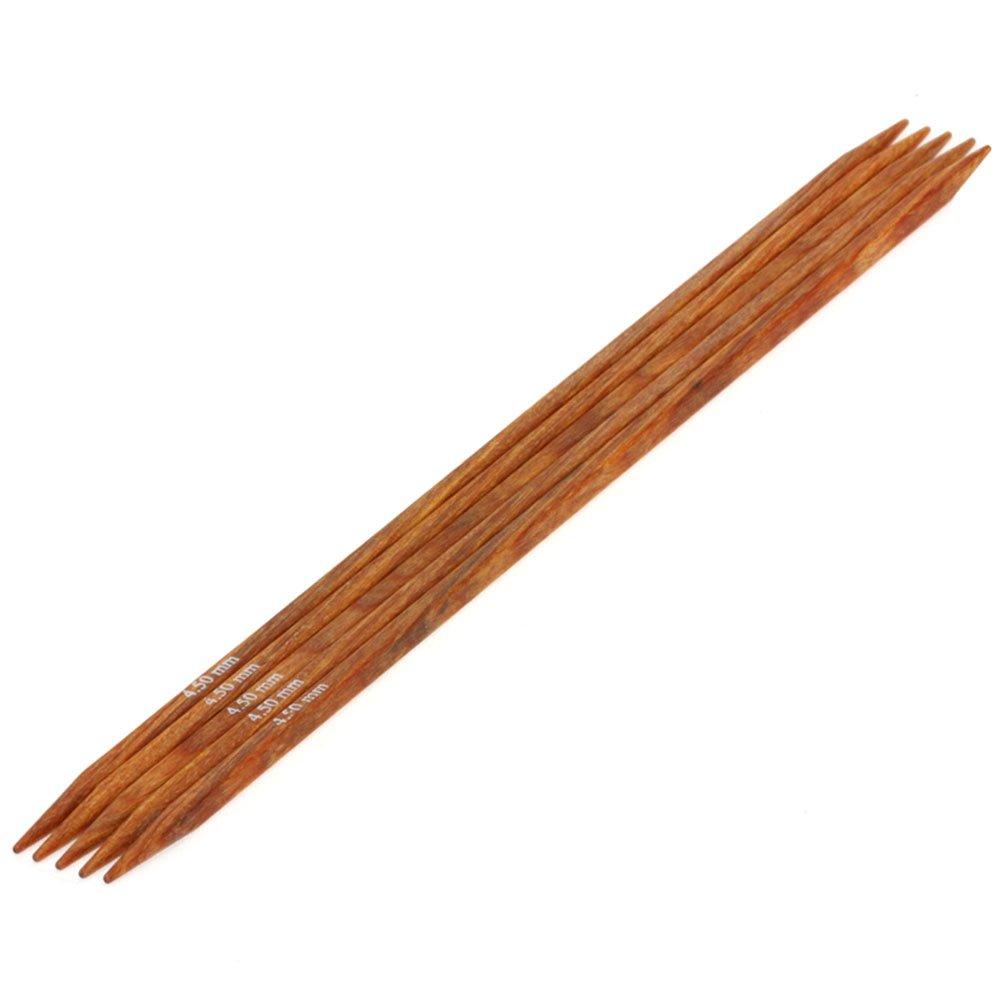 Lana Grossa набор чулочных спиц Дизайн Древесина Quattro № 4,5/20см