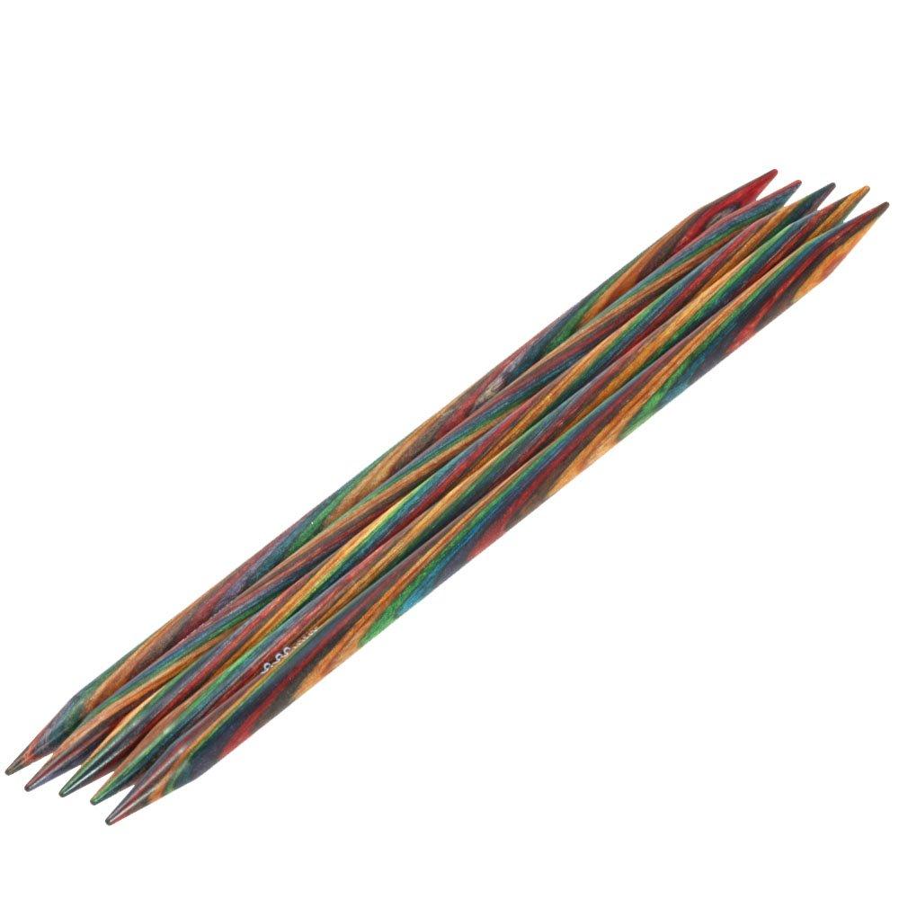 Lana Grossa набор чулочных спиц Дизайн Древесина Color № 8/20см